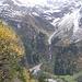 La cascata che scende dalla Brunnital.