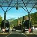 Zollstation zwischen Spanien und Andorra.