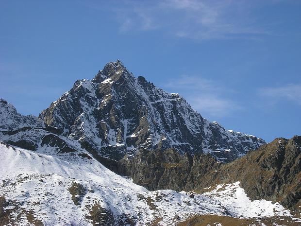 Gsallkopf, ein imposanter Berg des Kaunergrates (3277m)