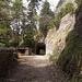 Le Hegeloch. Percé en 1839/40: un des plus anciens tunnels de Suisse (du moins, c'est ce que dit la plaquette d'information placée à l'entrée).