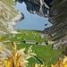 Der Fählensee und die Fählenalp in herbstlichem Ambiente.