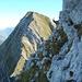 Blick vom Folliéran-Abstieg zum Brenleire