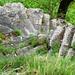 Treppenanlage nach Larecchia - und sie dreht sich doch !
