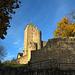 Die Ruine Starkenburg, Ort der Heppenheimer Jugendherberge