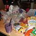 Chaos in der Hütte - noch in dieser Nacht habe wir alles ordentlich verlassen und einige haltbare Vorräte für Notfälle da gelassen.