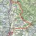 Tagesprogramm  Quelle: Swiss Map online