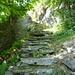 Alte Treppenanlage nach Piodàu