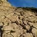 erste kurze Kletterstelle