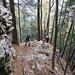 Der Steig ist teils steil und ausgesetzt aber sehr gut mit kleinen Steinmännchen markiert.
