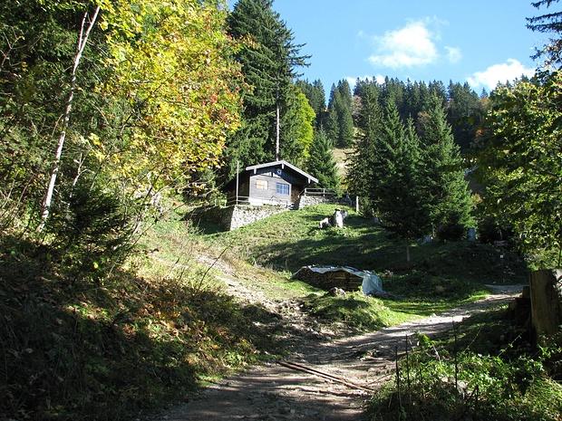 Bergwachthütte am Normalweg