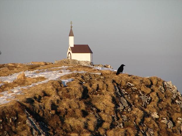 Kapellengifel am Hochgern im Februar