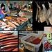 auf dem Fischmarkt in Petropavlovsk... Lachs und Kaviar satt
