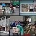 an der gut besuchten Raststätte Richtung Malki verkaufen Frauen ihr frisch Geerntetes, Milch und hausgemachte Piroschken, der Kiosk ist auch eine Tankstelle<br /><br />