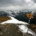 Nouveau (2008) panneau sur le sommet