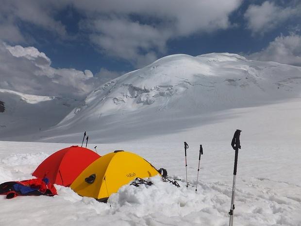 Hochlager auf 5300m