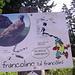 """Cartello didattico sul """"Sentiero del montanaro"""""""