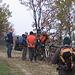 L'incontro con i nostri mountainbikers.