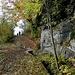 ein lauschiges Wandern den Suonen entlang beginnt ...
