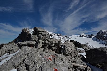 Gipfel Inner Fürberg.