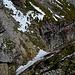Kurze Rinne im Abstieg vom Usser Fürberg.