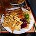 ein kräftiges Nachtessen in Ivano-Frankivs'k