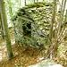 Hütte und Ruine von Cadinc