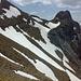 Schneefelder im Aufstieg zum Dreispitz