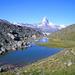 Encore une fois: Das Matterhorn im Aufstieg zur Pfulwe