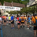 Kurz vor dem Start in St-Ursanne. 31 Single-Läufer und noch eine Handvoll Teamläufer. Ein sehr überschauberes Feld....