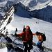Derniers pas avant le sommet