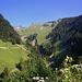 Am Weg hinein zur Fatnella Alpe