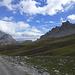 Die Landschaft ist grandios. Viele Wege hier oben sind für den verwöhnten Alpenwanderer jedoch eher ernüchternd!