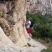 Im Zustieg zu den Felsen