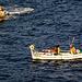 Fischer in den Calanques - ins Netz ging diesmal nichts.