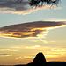 Sonnenaufgang über der Grande Tête, Cap Canaille