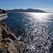 Promenieren hoch überm Meer in Marseille