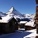 Blick auf's Matterhorn