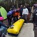 Le caisson de décompression, testé au dernier camp (mais aucun volontaire pour se mettre dedans :) )
