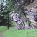 Il sentiero dopo Büsan 1578 m.