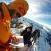 Gipfelbuch Eintragung