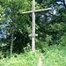 Kreuz an der Schletter. Einer der Einstiege zum Schanzentrai.l
