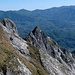 la cresta della Mirandola dopo la cima omonima....
