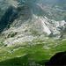 sguardo sul versante nordest del Pisanino con la cresta della Mirandola sulla dx,durante la discesa verso la Bàgola Bianca...