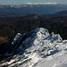la cresta della Mirandola in veste invernale...