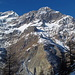 Brunegghorn, Gross Kastel, Bergsturzgebiet Randa