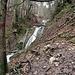 Ein kleiner Wasserfall des Sulzbaches