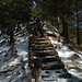 der anspruchsvolle Abstieg über den Westgrat vom Studberg