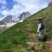 Aufstieg zur Altenalp