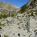 Oberhalb der Alpe Zaria. Im Hintergrund der Pizzo Meda und der Passo Campolungo.