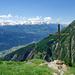 Blick von der Honalpa ins Wallis